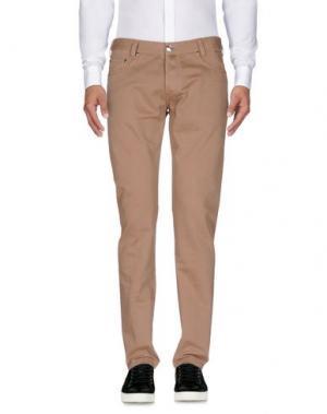 Повседневные брюки BETWOIN. Цвет: песочный