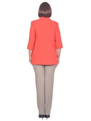 Жакет Томилочка Мода ТМ. Цвет: коралловый