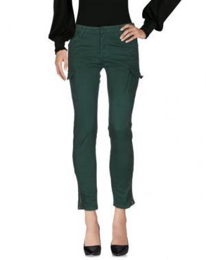 Повседневные брюки ATELIER FIXDESIGN. Цвет: темно-зеленый