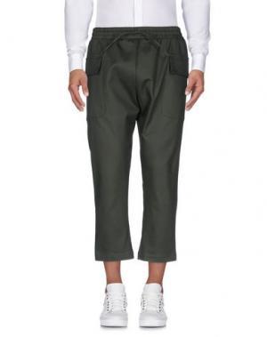 Повседневные брюки CHOICE NICOLA PELINGA. Цвет: зеленый