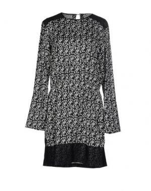 Короткое платье COSTUME NEMUTSO. Цвет: черный