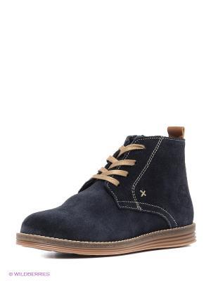 Ботинки на байке El Tempo. Цвет: синий