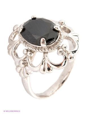 Кольцо Lovely Jewelry. Цвет: черный, серебристый