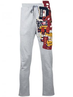 Спортивные брюки Doublet. Цвет: серый