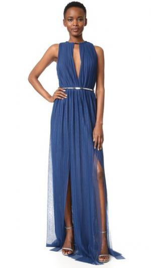 Платье Jay Ahr. Цвет: синий/серебряный