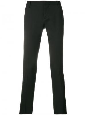 Классические брюки Entre Amis. Цвет: чёрный