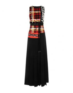Длинное платье MARC BY JACOBS. Цвет: черный