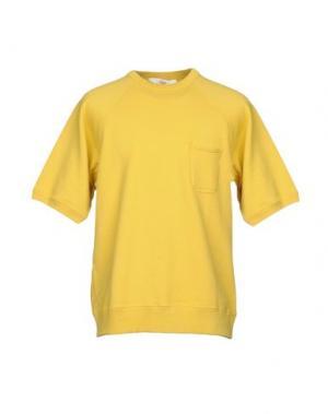 Толстовка BATTENWEAR. Цвет: желтый