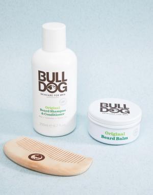 Bulldog Набор по уходу за бородой. Цвет: бесцветный