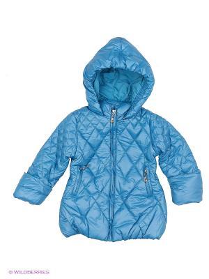 Пальто PELICAN. Цвет: голубой