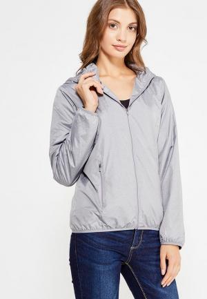 Куртка Nice & Chic. Цвет: серый