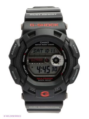 Часы G-SHOCK G-9100-1E CASIO. Цвет: черный
