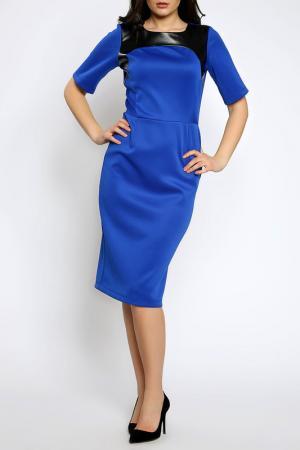 Платье Moda di Chiara. Цвет: blue