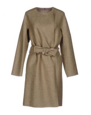 Легкое пальто N_8. Цвет: бежевый