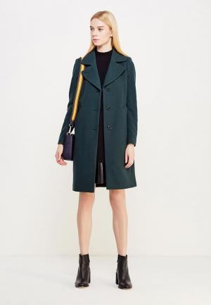 Пальто Twin-Set Simona Barbieri. Цвет: зеленый
