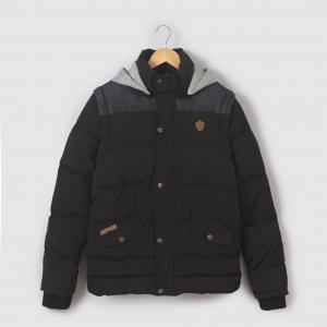 Куртка с капюшоном на молнии, 10-16 лет KAPORAL 5. Цвет: черный