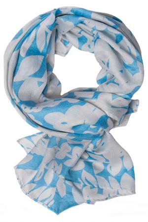 Платок Michel Katana. Цвет: синий, бежевый