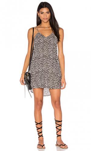 Платье kamaaina Acacia Swimwear. Цвет: беж