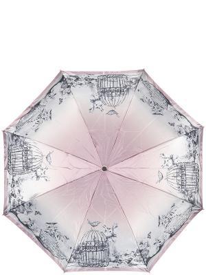 Зонт Eleganzza. Цвет: серый, бледно-розовый, розовый