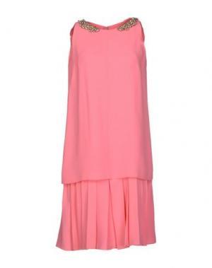 Короткое платье DICE KAYEK. Цвет: розовый