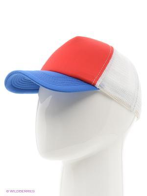 Бейсболка Combo Trucker True Spin. Цвет: синий, красный