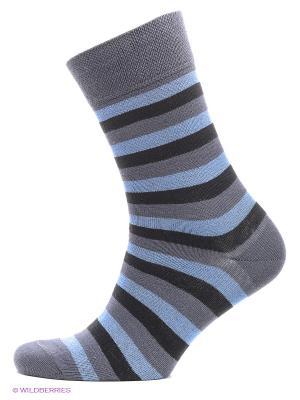 Носки, 2 пары БРЕСТСКИЕ. Цвет: серо-голубой, серый