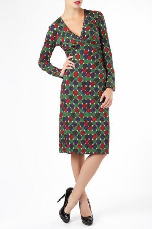 Платье ELLEN EISEMANN. Цвет: мультицвет