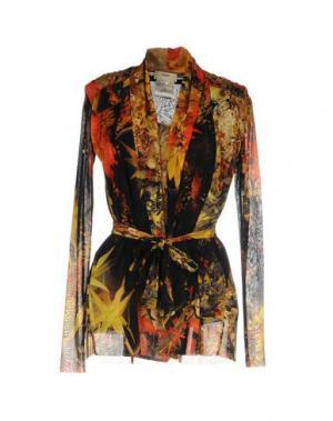 Блузка FUZZI. Цвет: охра