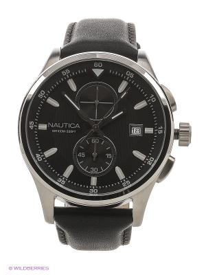 Часы Nautica. Цвет: серебристый, черный