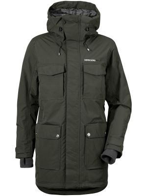 Куртка DREW DIDRIKSONS. Цвет: темно-зеленый