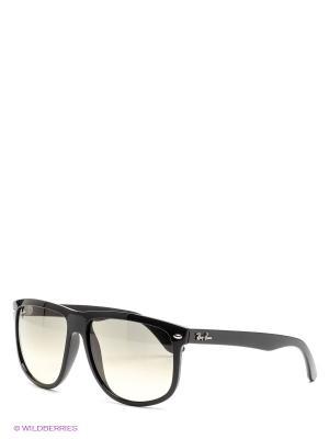 Очки солнцезащитные Ray Ban. Цвет: черный, прозрачный