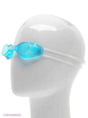 Стартовые очки Liquid Racing Mad Wave. Цвет: голубой