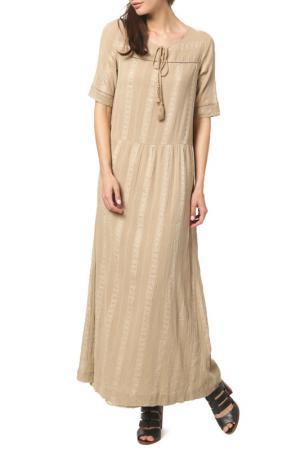 Платье DEBY DEBO. Цвет: beige