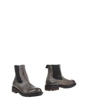 Полусапоги и высокие ботинки SEBOY'S. Цвет: стальной серый