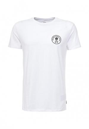 Футболка Volcom. Цвет: белый
