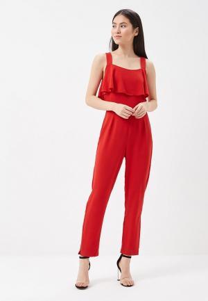 Комбинезон Pepe Jeans. Цвет: красный