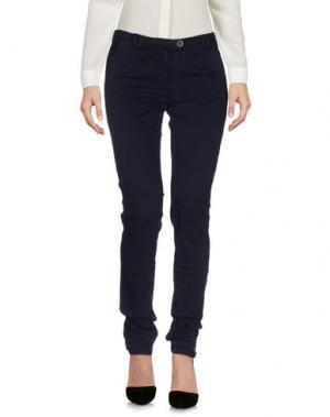 Повседневные брюки ALPHA STUDIO. Цвет: темно-синий