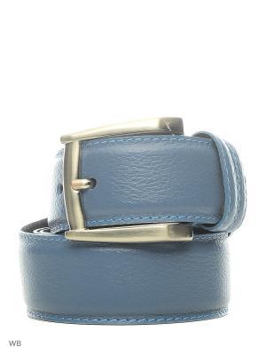 Ремень Roberto Nardi. Цвет: серо-голубой