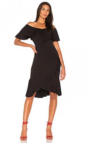 Платье anh VAVA by Joy Han. Цвет: черный