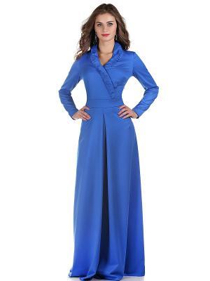 Платье OLIVEGREY. Цвет: лазурный