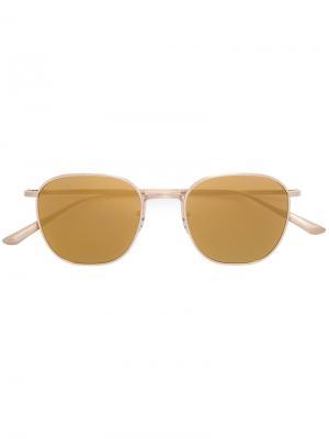 Солнцезащитные очки  x Row Board Meeting 2 Oliver Peoples. Цвет: жёлтый и оранжевый