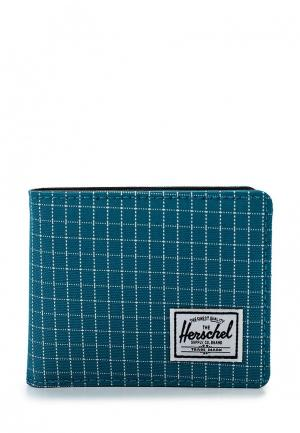 Кошелек Herschel Supply Co. Цвет: бирюзовый