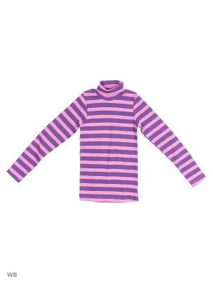 Водолазка детская Bonito kids. Цвет: фиолетовый, розовый