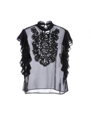 Блузка MANOUSH. Цвет: черный