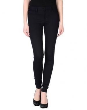 Повседневные брюки 2ND DAY. Цвет: темно-синий
