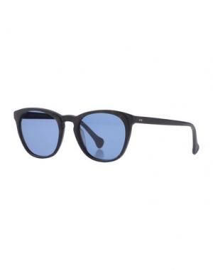 Солнечные очки SATURNINO EYE WEAR. Цвет: темно-коричневый