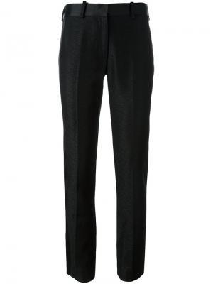 Текстурированные брюки со стрелками Victoria Beckham. Цвет: чёрный
