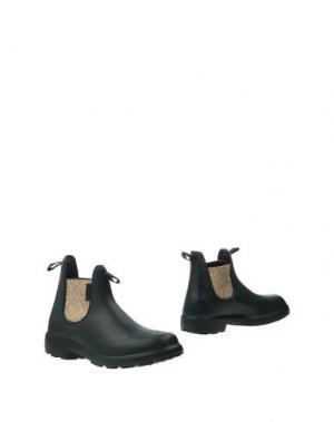 Полусапоги и высокие ботинки GAZEL. Цвет: изумрудно-зеленый