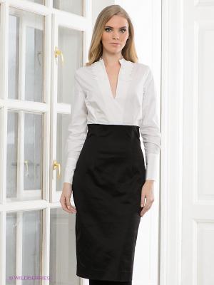 Платье Elena Shumilo. Цвет: черный, белый