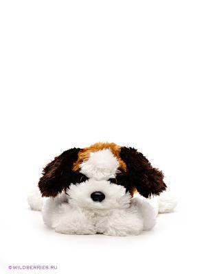 Игрушка мягкая Собака YODEL TY. Цвет: рыжий (осн.), белый, коричневый
